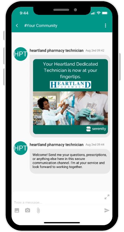 Screenshot Heartland COMMUNITY Welcome